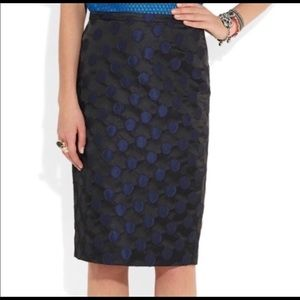 🆕 J.Crew Polka Dot Pencil Skirt NWT